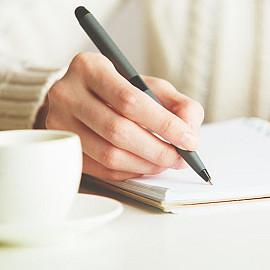 Schrijven is echt van mij