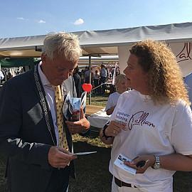 Ook de Burgemeester van Noordwijk is enthousiast