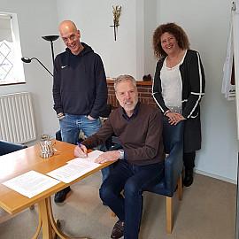 Samen-werking met Peter Broeder